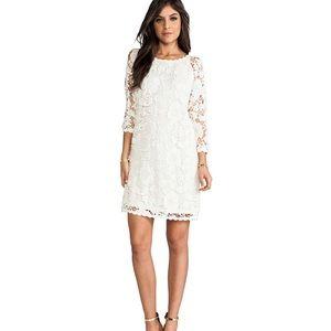 NWT revolve white lace dress